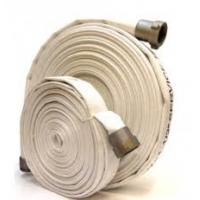 Resistant PVC Lined Canvas Fire Hose Matched With Jet Spray Nozzle / Branchpipe Manufactures