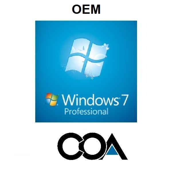 Quality Microsoft Windows 7 Professional OEM COA Sticker for sale