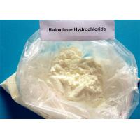 99.34% High Purity Anti Estrogen Steroids , Raloxifene Hydrochloride HCL Powder CAS 82640-04-8 Manufactures
