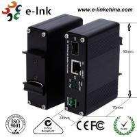 Din Rail Mount Industrial Ethernet Fiber Media Converter Manufactures