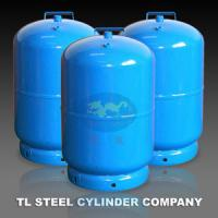 Portable BBQ 12L Cooking Gas Cylinder EN1442 For Camping , Gas Bottle Manufactures