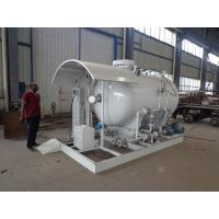 5cbm Propane Filling Station , 2.5tons Propane Lpg Skid Plant With Scale Manufactures