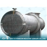 Gr9 ETC Seamless Titanium Pipe ASTM B338 For Heat exchangers Manufactures