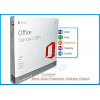 Online Activation Microsoft Office 2016 Pro Standard License 1 PC DVD Manufactures