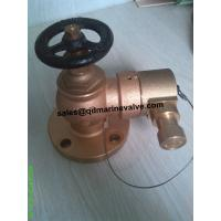 Quality BRONZE FIRE HYDRANT VALVE C/W INSTANTANEOUS COUPLING for sale