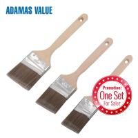 Synthetic fiber paint brush,angled paint brush,paint brush wood handle with long handle CF1832104 Manufactures