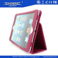 Upstanding PU leather case for iPad mini Manufactures