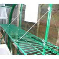 two tiers silver greenhouse shelf Manufactures