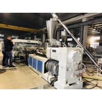 China Reinforced Thick PVC Board  Extrusion Line Heat Resistant Non Pollution Smooth Surface on sale