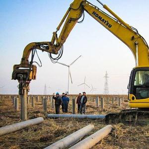 China refitting excavator vibro hammer construction machinery china supplier on sale