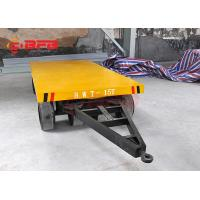 20T Construction Site Busbar Powered Transfer Cart For Drilling Roll Handling Railway Manufactures