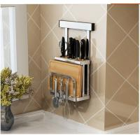 Save Space Design Wall Mounted Plate Racks For Kitchens Anti - Rust Manufactures