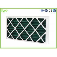 G4 Pleated Replacement Air Filter 45Pa Initial Pressure Drop With Cardboard Frame Manufactures