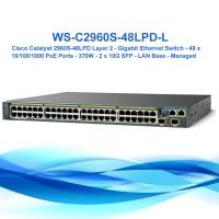 China Cisco Ws-C2960s-48lpd-L Gigabit 370W Poe Managed Network Switch Switch Cisco Catalyst 2960 Poe on sale