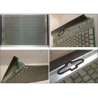 Oilfield Mud Cleaner Shale Shaker Screen Flat / Pinnacle Structure 20 - 325 Mesh Manufactures
