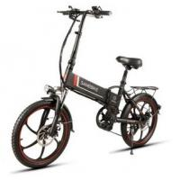 WWW.YOLCART.COM Samebike XW-20LY 350W Smart Folding Electric Bike 35km/h Max. Speed 48V 10AH E-Bike - Black Manufactures