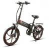 Buy cheap WWW.YOLCART.COM Samebike XW-20LY 350W Smart Folding Electric Bike 35km/h Max. from wholesalers