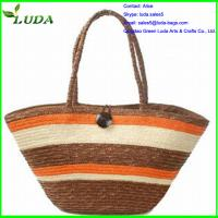 Quality Best selling wheat straw handbags for sale