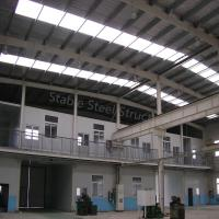 Environmental Light Steel Structure Prefab Warehouse with Office Room Manufactures