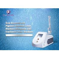 RF Tube CO2 Fractional Laser Machine For Wrinkle Removal And Skin Tightening Manufactures