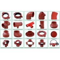 Ductile Iron Groove Pipe Fitting & joint coupling fittings Manufactures