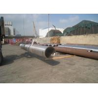 Hot Rolled Seamless Carbon Steel Pipe , Round Steel TubingMTC Certificated Manufactures