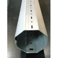 Hydraulic 4kw Door Frame Roll Forming Machine Galvanized Steel Octagon Pipe Roll Former Manufactures
