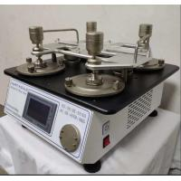 110V Lab Testing Equipment Martindale Abrasion And Pilling Tester  2 , 4 , 6 , 8 Heads for sale