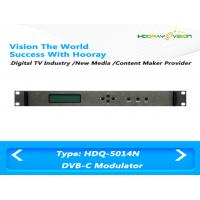 China High Performance Satellite Cable Digital TV Modulator 4 QAM Channel 1 RF output on sale