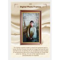 DIgital screen portrait for funeral parlor use image displaly Manufactures