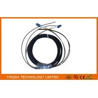 China DLC 2 Core FTTA Fibre Optic Patch Cord Outdoor For Base Sation on sale