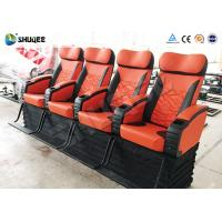Electronic 4d Theater System Movie Theater Equipment 4 Seats With Vibration Manufactures