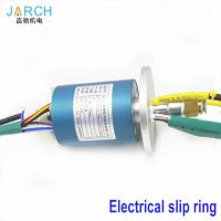 China 2A / 5A Through Bore Homemade Slip Ring Aluminium Alloy ID 6mm OD 40mm 2 ~ 24 Circuits on sale
