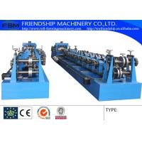 10-25m/Min C Z Purlin Roll Forming Machine With 1.5 Chain Transmission Manufactures