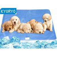 Professional Summer Firmer Gel Cats Dog Bed Cooling Pad For Animals Manufactures