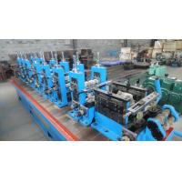Welded Steel Pipe Making Machine / Production Line With 20 - 60 m / min Speed Manufactures