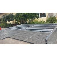 Heavy Duty Galvanized Cattle Yard Panels Horse Fence For Farm Livestock JH Manufactures