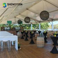 China Big permanent aluminum frame PVC canopy tent for large wedding party events in sale on sale