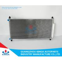 Aluminum Honda Accord Condenser / Heat Transfer Condenser thickness 16mm Manufactures