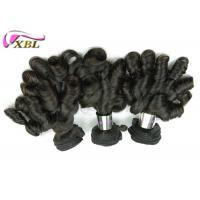 Smoth Long Lasting Cambodian Virgin Hair Weft Funmi Hair For Black Women Manufactures