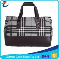 Lightweight 600D Polyester Waterproof Duffel Bag Travel Leisure Hand Luggage Bags Manufactures