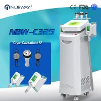 China Hot sale 5 handles cryolipolysis fat freeze slimming machine , cool lipo weight loss combine cavitation, RF vacuum on sale