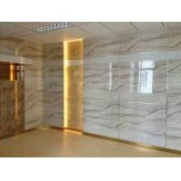 China UV Coating Solid Pvc Waterproof Bathroom Wall Panels Exterior Marble Color on sale