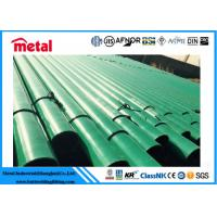 API 5L X52 3LPE Coated Steel Pipe DN600 SCH 40 Thickness LSAW For Liquid Manufactures