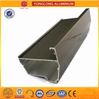 Electrolytic Coated Aluminum Window Frame Profile T5 , T6 Temper Manufactures