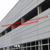 Large Industrial Plant Project Pre-Engineered Building By FASEC Prefab - I Panel Manufactures