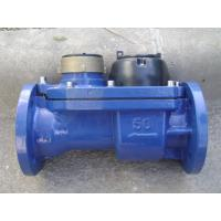 Woltman Combination Water Meter Dry Type , Cold Water Meter With Iron Cast Body Manufactures