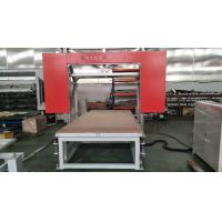 Speed UP to 10 m/min High Precision horizontal eva foam contour cutting machine Manufactures