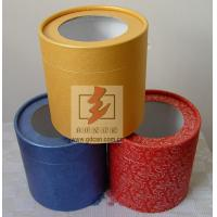 Custom Recycled Paper Tube Box Container , Cosmetic Tube Packaging Manufactures