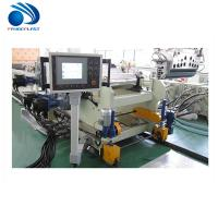 Acrylic / Plastic Sheet Making Machine Coincal Twin Screw Extruder Manufactures
